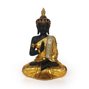 Religious furnishing articles resin material Kindly figure buddha