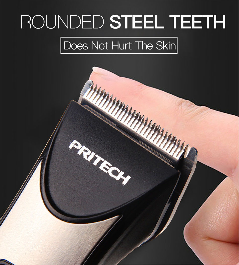Professional Factory Wholesale High Quality cordless Electric Rechargeable  Hair Clipper Trimmer