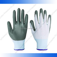 010333 China good quality perfect brand useful lucky nylon coated gloves