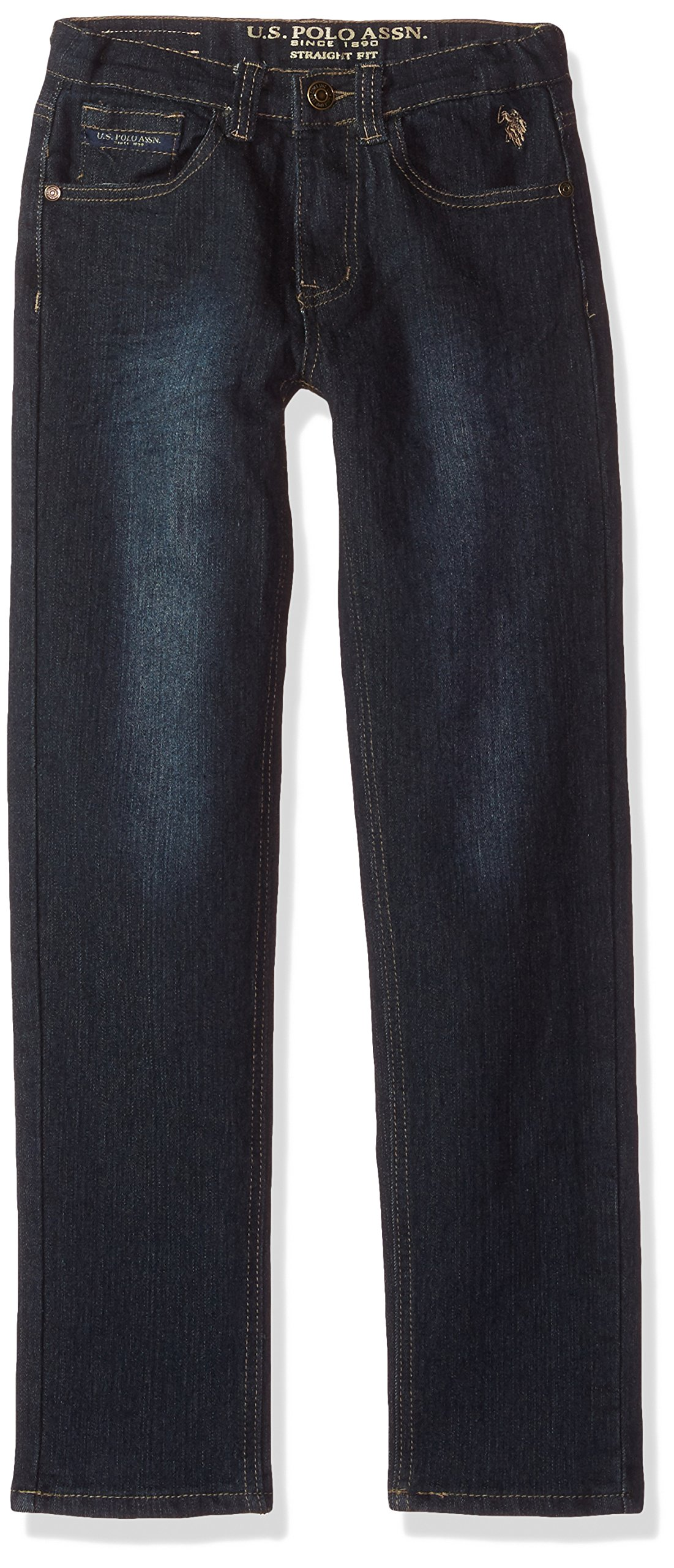U.S. Polo Assn. Big Boys' Straight Fit Jean