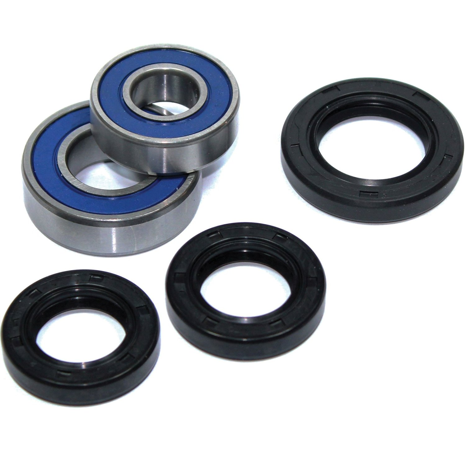 Caltric FRONT WHEEL BALL BEARINGS & SEALS KIT FITS SUZUKI LTZ400 LTZ-400 LTZ400Z LTZ400-Z QUADSPORT 400 2003-2009 2012
