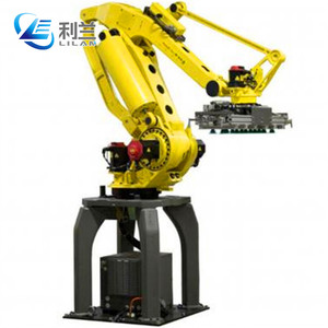 2018 industrial case stacking robot arm palletizer machine for cartons