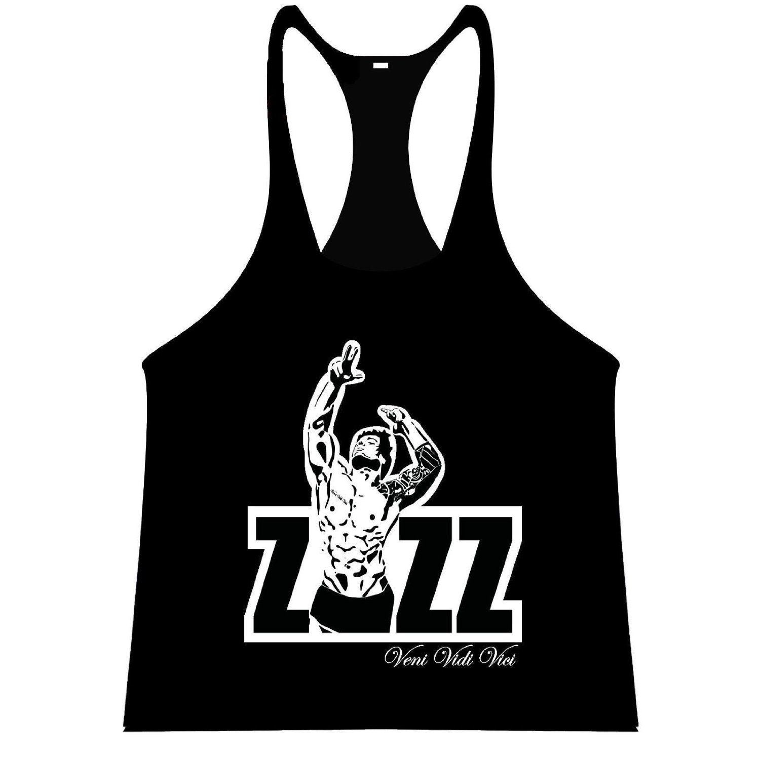 8f9cb09712296 Get Quotations · ZYZZ Official Singlet Tank Top Stringer Vest Bodybuilding  Racerback Y-Back Veni Vidi Vici