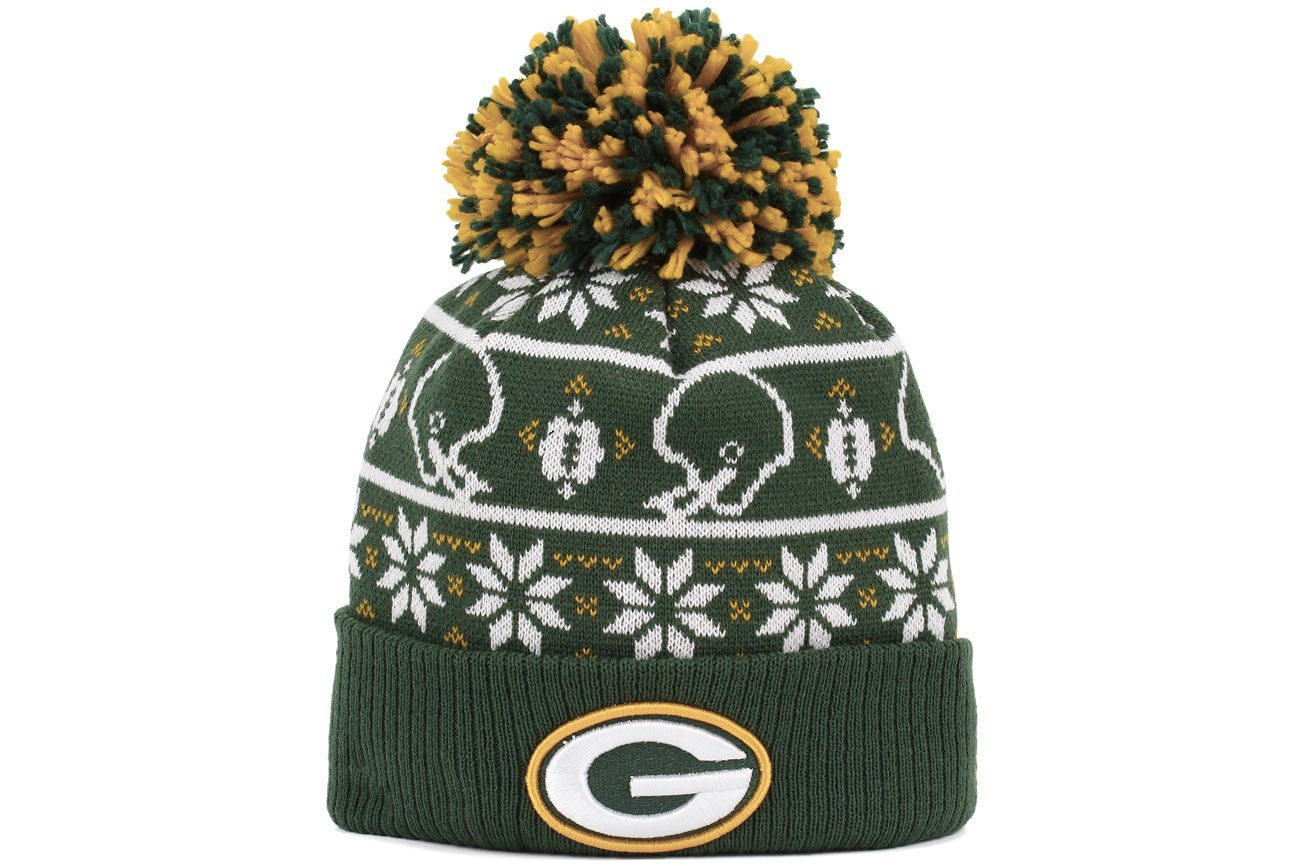 fbc28c9dd80 Get Quotations · New Era Greenbay Packers Sweater Chill Sport Knit Beanie