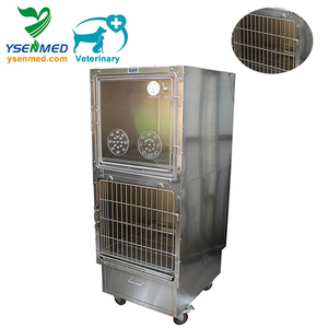 Veterinary China Pet Oxygen Dog Cage Medical Animal Pet Oxygen Cage