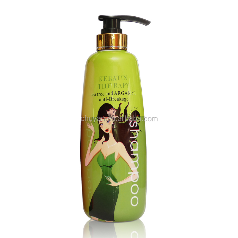 750ML OEM/ODM Hair treatment keratin Nourishing shampoo for damage hair