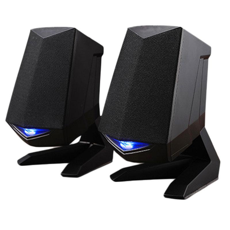 Portable Mini Speakers Wired USB2.0 Heavy Bass Speaker for Desktop Laptop Notebook Tablet PC