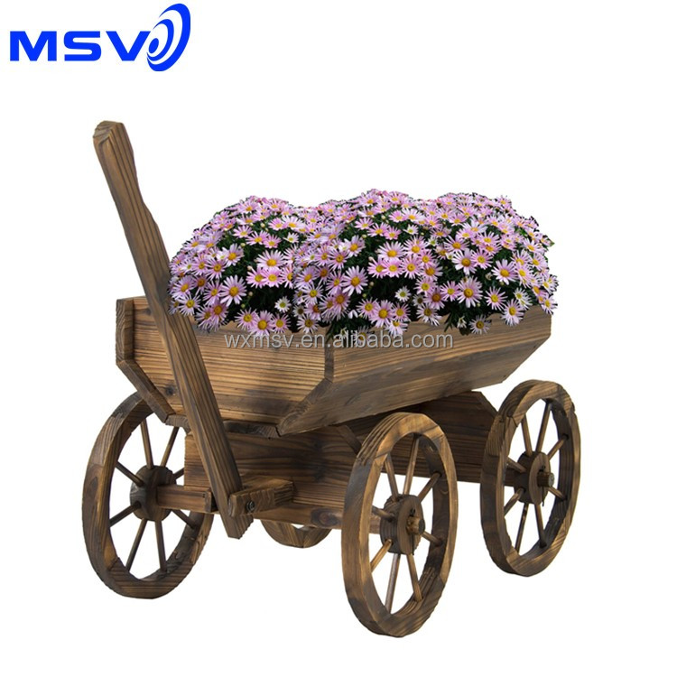 Wood Wagon Wheel Flower Planter Wholesale Buy Wood Wagon Wheel Planterwood Wagon Wheel Flower Planterwood Wagon Wheel Flower Planter Wholesale