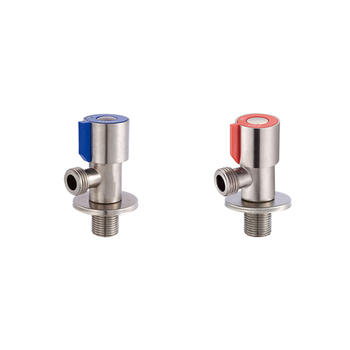 SUS304 Stainless Steel Angle Valve Bathroom Toilet Faucet Mixer cold and hot water control angle valve