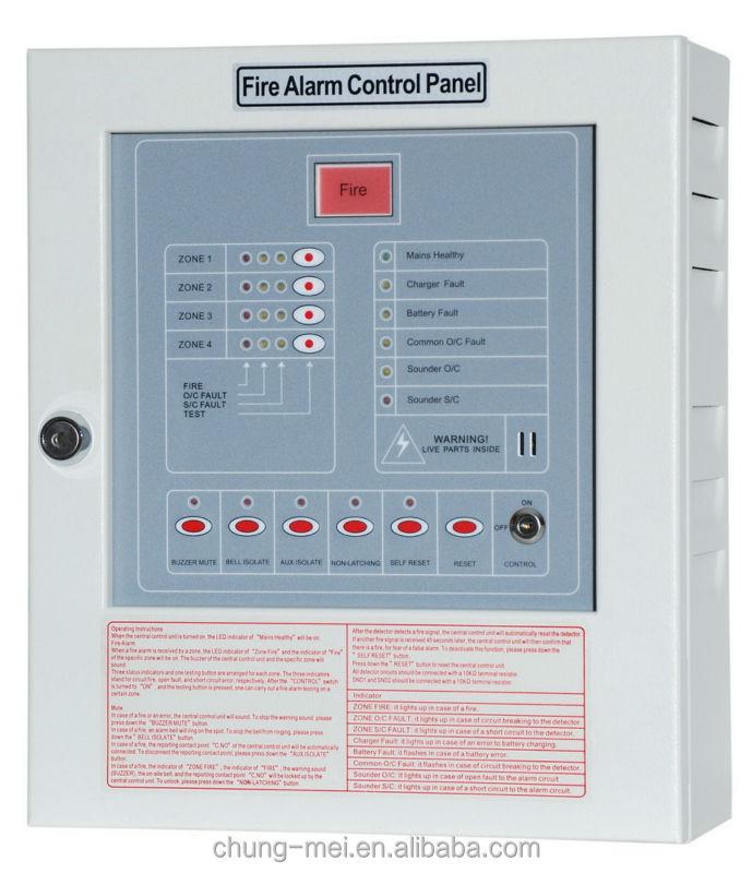 Cm-p1 Conventional Fire Alarm System Control Panel
