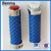 New Style Dirt Bike Handle Grips with Lights ,Blue Motorcycle Handle Grips ,Dirt Bike Handle Grips
