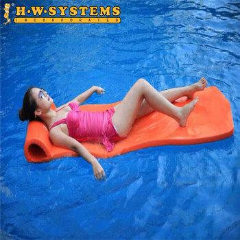 Super Soft Factory Supply Pool Floats Vinyl Coated Custom Foam Mat ...