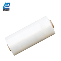 Quality cast hand use LLDPE stretch film/Transparent Pallet PE Stretch Film/PE strech film Pallet shrink wrap stretch film