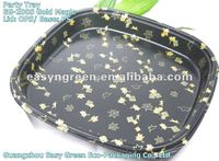 New Plastic Sushi Party Tray with Clear Lid, EG-200S