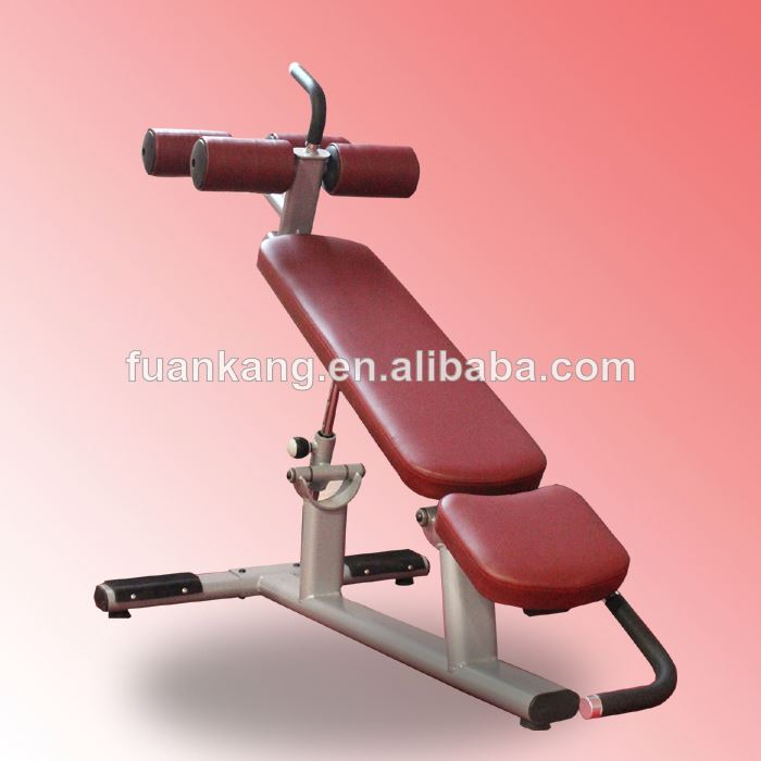 Sport Machine Adjustable Decline Abdominal Bench