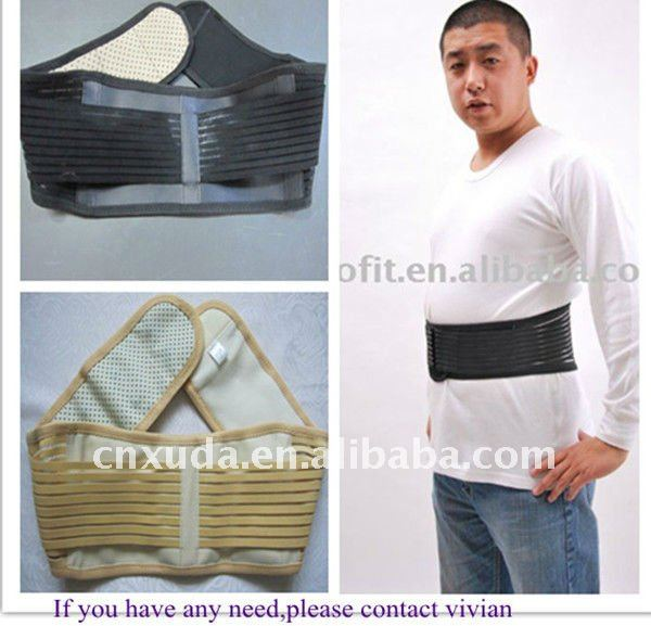 2012 best seller!!Far-infrared Heating back support belt with FDA&CE certificate