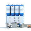 Hot sell portable hzs50 concrete batching plant and related products