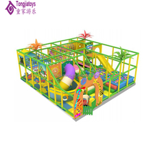 custom made kids play center children plastic playground houses with inflatable octopus toys