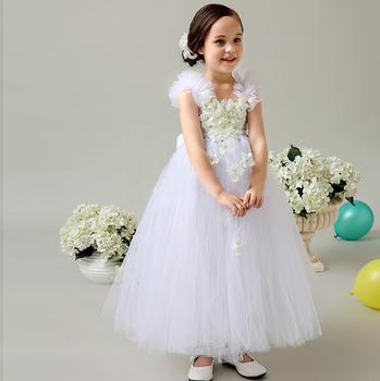 long infant dress crew neckline lace plus size white lace