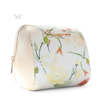 Guangzhou Yumei Leather Co Cosmetic Bag New Style Professional Beautiful Designer Pu