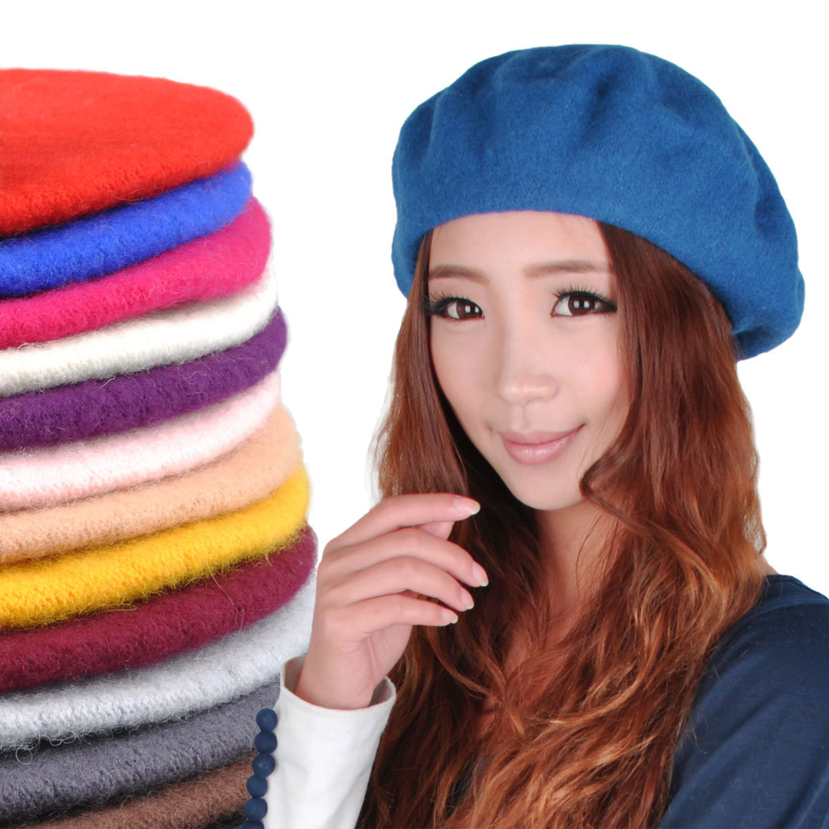 24514381fa9bb Wool Beret Hats For Women - ShopStyle
