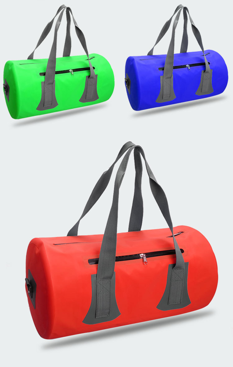 New Arrival Outdoor Customized Logo 500D PVC Waterproof Duffel Bag for Swimming