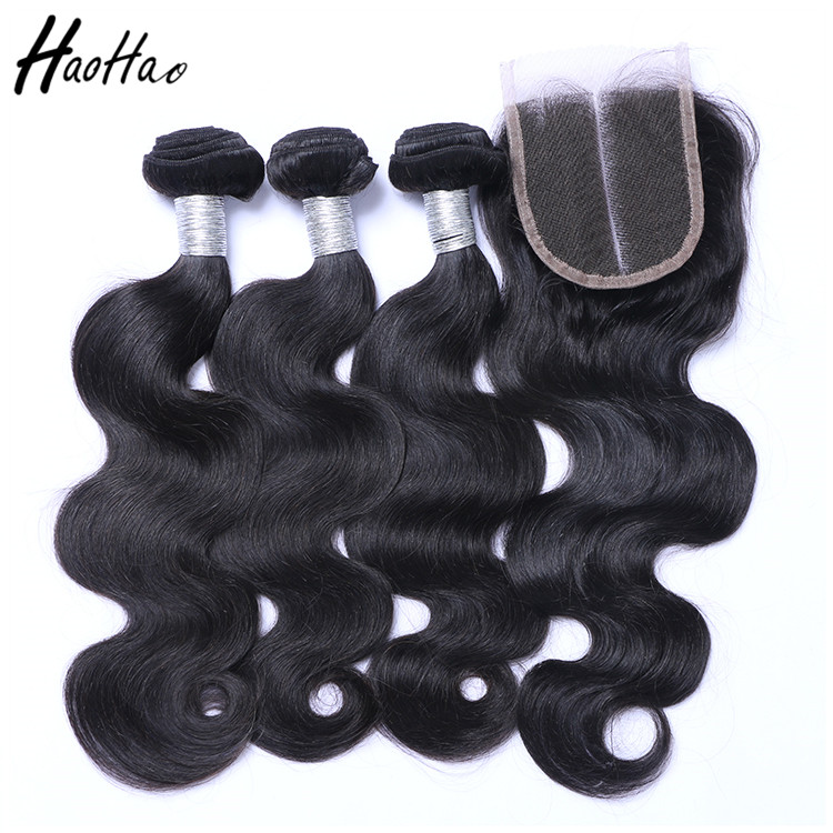 Alibaba.com / Cuticle aligned 100 human brazilian hair in Mozambique with closure