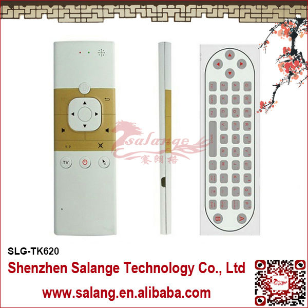 Wholesale Cheapest USB Air Mouse+3d Motion Stick + Android <strong>Remote</strong> Wireless Air Finger Mouse for Smart Android <strong>TV</strong> Box By Salange