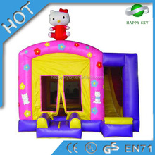 High quality inflatable castle combo airflow bouncer, customized style bouncer