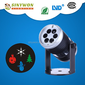 For Europe Distributors Festival Gifts 4W Spot Light with Plug Led Christmas Laser Light