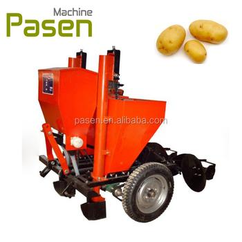 2 Rows Potato Planter Seeder With Fertilizer Applicator