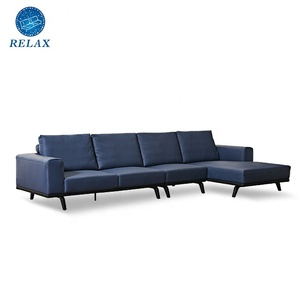2019 latest good quality living room furniture sectional leather sofa sale