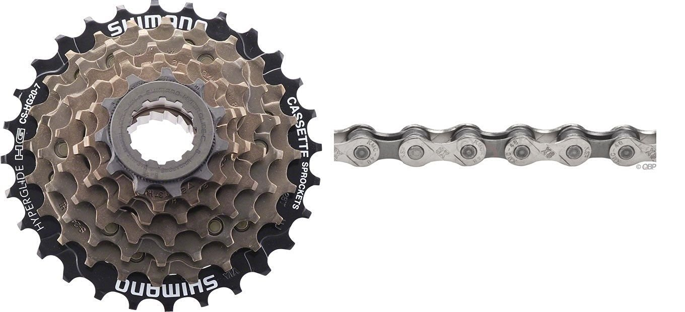Cheap Shimano Hyperglide Cs Hg50 9 Find Sproket 8 Speed Hg 31 11 34t Get Quotations Hg20 7 12 28t Brown Bicycle Cassette W Kmc