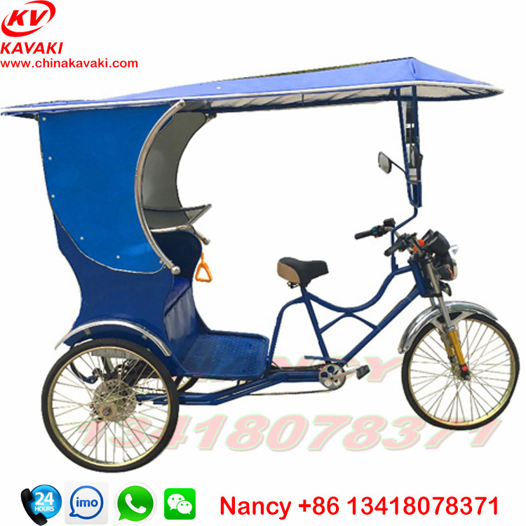 Sightseeing 3 Wheel Leisure Taxi Bike Bajaj Three Wheeler Auto ...