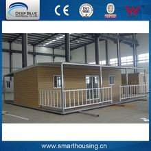 Cheap personalized design colorful mobile prefab house