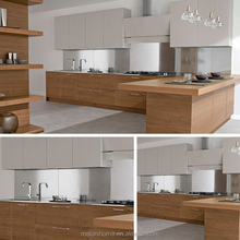 Australia Furniture Kitchen Cabinet Manufacturing Equipment with Wood Veneer Door Skin
