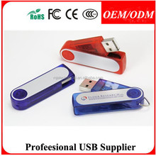 plastic swivel mini usb drive , Gift for Weighing Travel Luggage