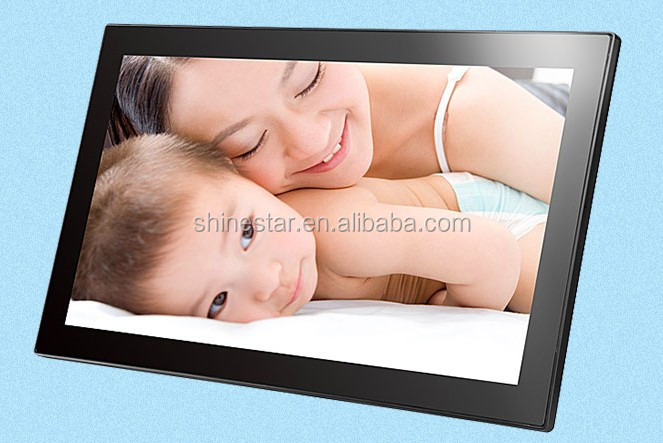 "Wall landscape portrait 21.5"" inch LCD Android WIFI network TV advertising"