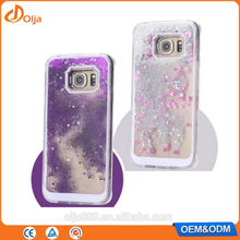 Liquid glitter phone case for htc one m7 best quality for samsung galaxy j7 factory price
