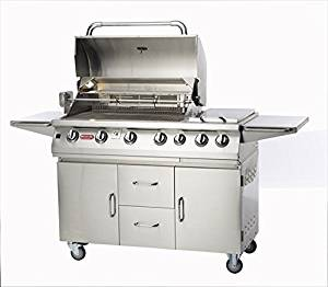 7 Burner Premium Gas Grill Fuel Type: Natural Gas