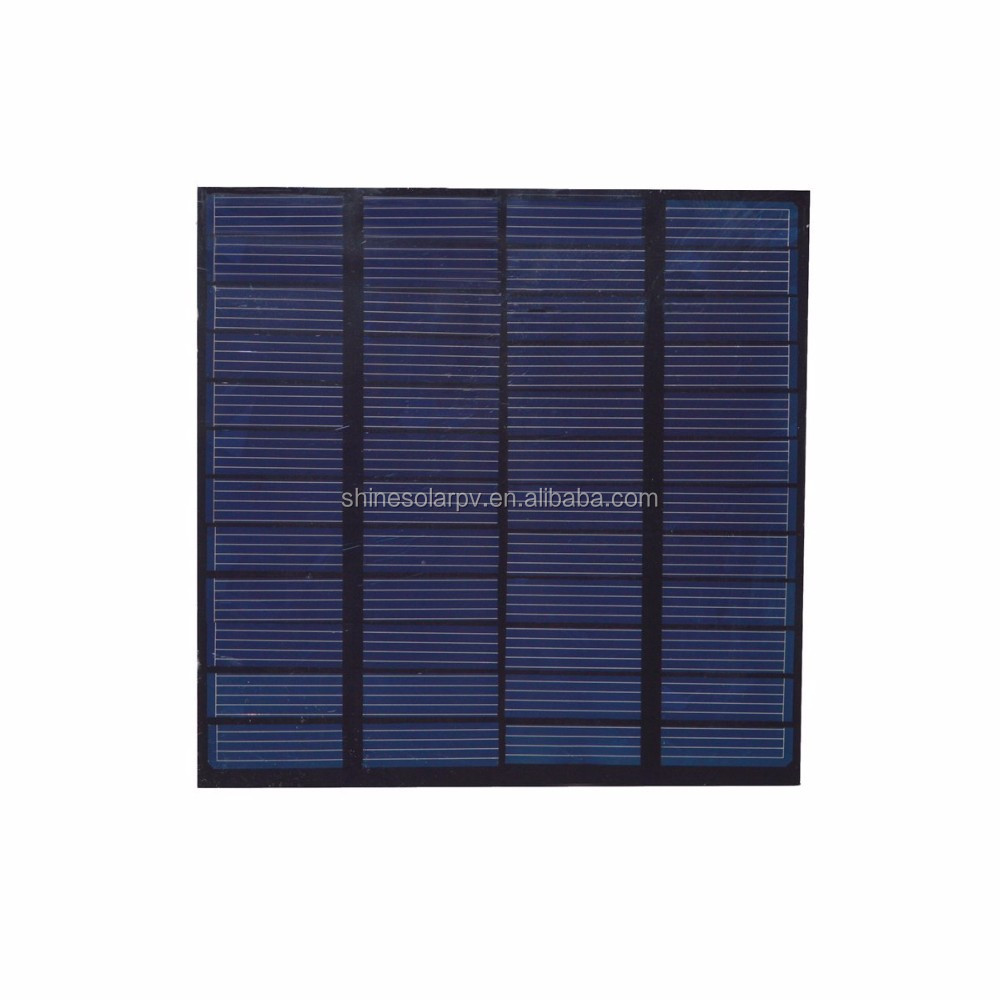 2W 3W 12V Mini Small Monocrystalline Silicon Solar Cell Solar Panel PV Module