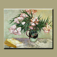 High quality pure hand-painted Van Gogh's famous painting --oleanders vincent van gogh