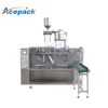 high efficiency ready made stand up pouch 200ml juice packaging machine