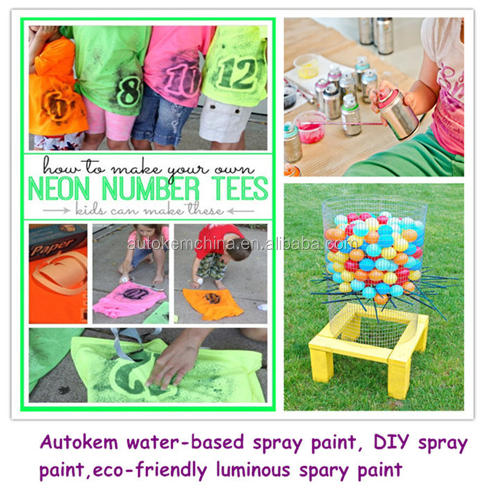 child safe spray paint/water based spray paint/no harmful