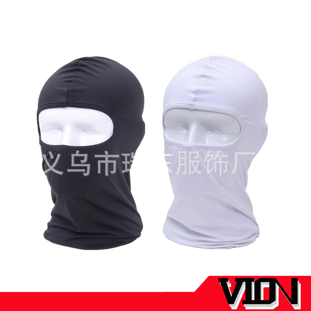 Stock mix 14 color lightweight white balaclava