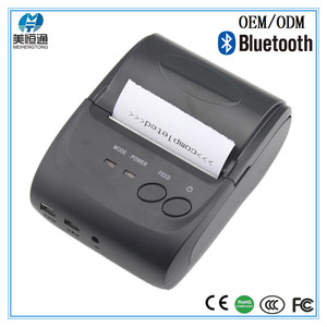mobile terminal thermal printer handheld pos bluetooth receipt bill printer MHT-5802