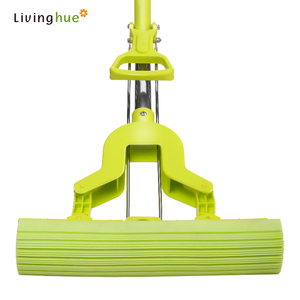 2019 Livinghue Speed Quick Easy Durable PVA Folding Mop