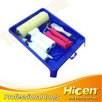 12pcs Paint Roller Brush Tray Set