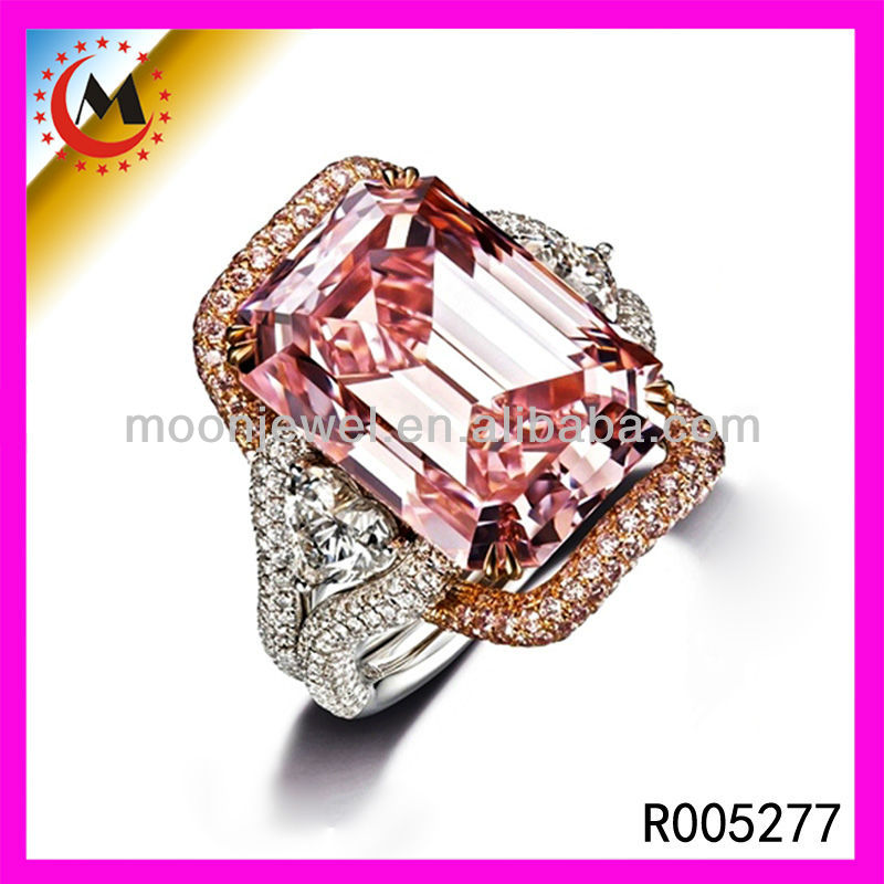 Man Made Artificial diamond rings/large men rings accessories