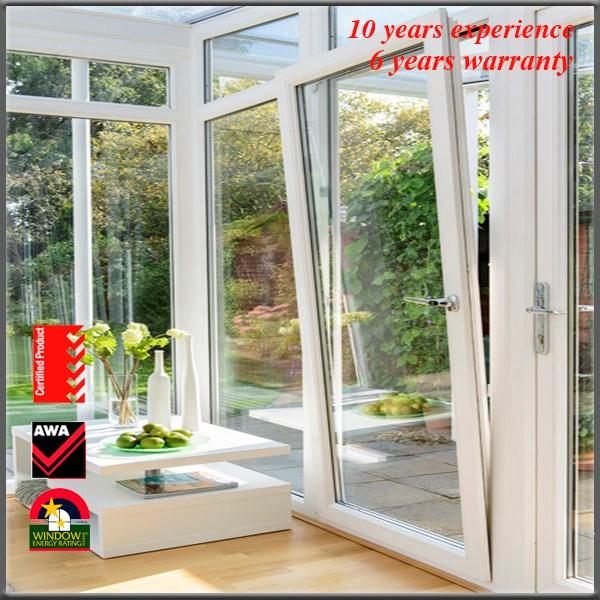 Lowes Exterior Wood Doors Aluminum Profile Bifold Exterior China Double Tempe